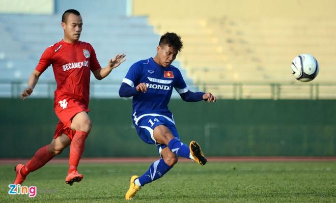 Cong Phuong kien tao, U23 VN hoa DKVD V.League hinh anh 6