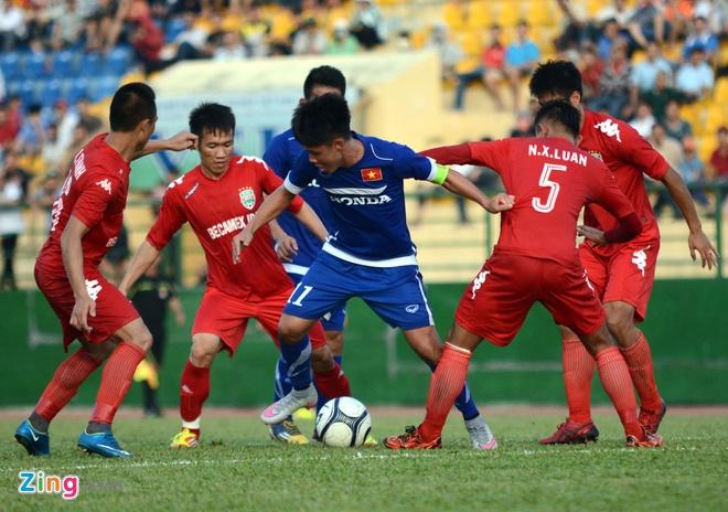 Cong Phuong kien tao, U23 VN hoa DKVD V.League hinh anh 3