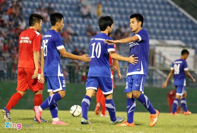 Cong Phuong kien tao, U23 VN hoa DKVD V.League hinh anh 8