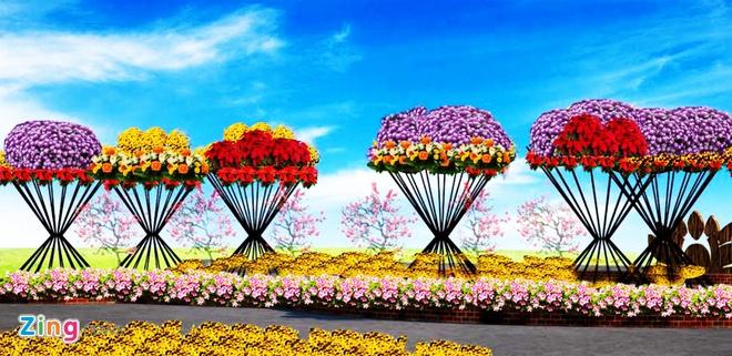 Duong hoa Tet chu quyen bien dao o Binh Dinh hinh anh 8