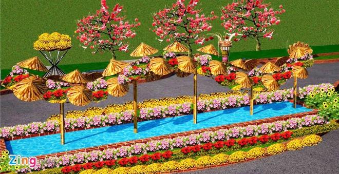 Duong hoa Tet chu quyen bien dao o Binh Dinh hinh anh 7