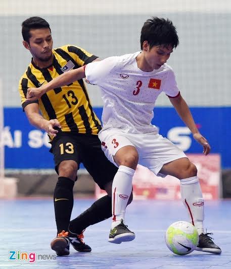 DT futsal VN thang doi tung gianh hang ba Dong Nam A hinh anh 1