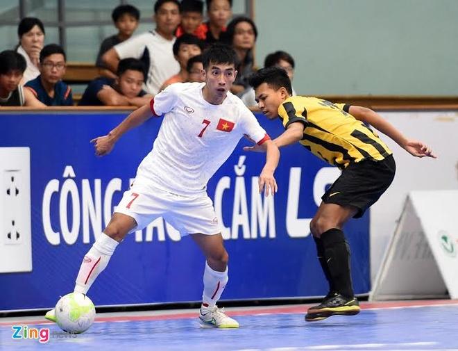 DT futsal VN thang doi tung gianh hang ba Dong Nam A hinh anh 2