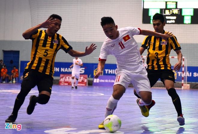 DT futsal VN thang doi tung gianh hang ba Dong Nam A hinh anh 3