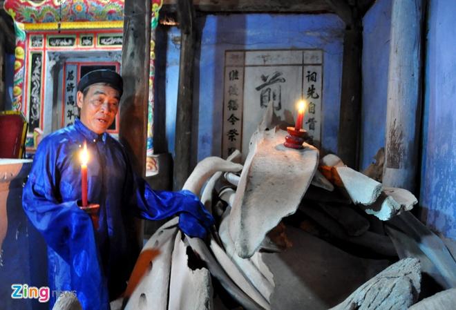 'Bao tang' xuong ca voi o dao Ly Son hinh anh 6