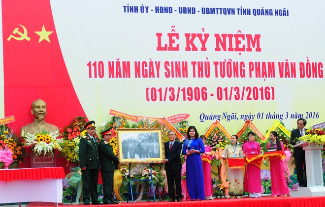 Tong bi thu du 110 nam ngay sinh co Thu tuong Pham Van Dong hinh anh 8
