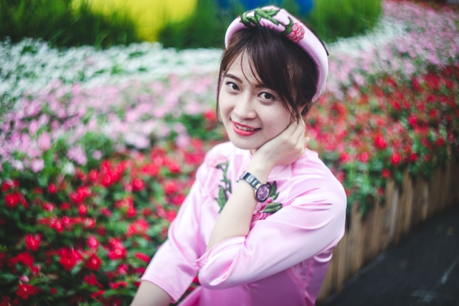 Hoi hoa xuan o pho nha giau Sai Gon hinh anh 12