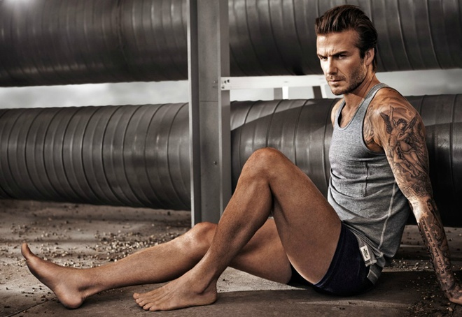 The luc cua David Beckham hinh anh