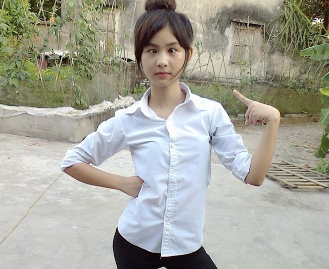 Tao dang doc nhat vo nhi, 9X Hai Duong thanh hot girl mang hinh anh 6