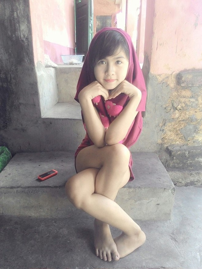 Tao dang doc nhat vo nhi, 9X Hai Duong thanh hot girl mang hinh anh 1