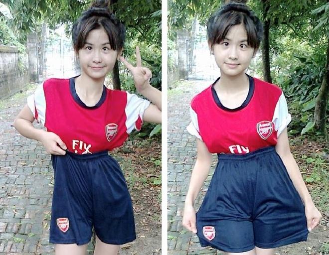 Tao dang doc nhat vo nhi, 9X Hai Duong thanh hot girl mang hinh anh 2