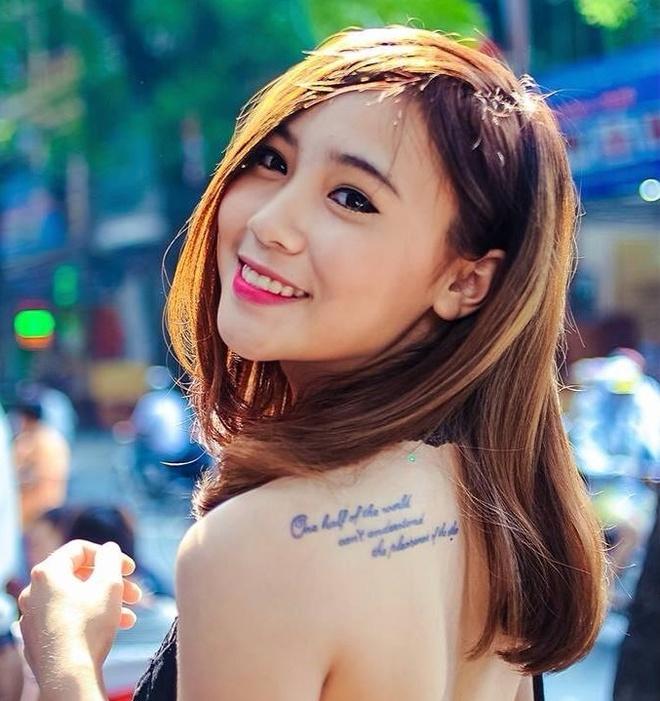 9X ten Thuy Kieu gay tranh cai voi clip 'ban tin nem da' hinh anh 2