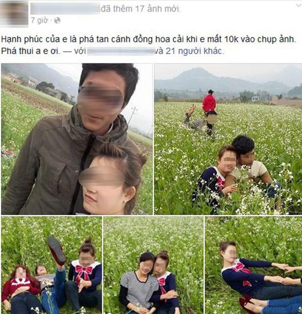 Mat 10.000 Dong Chup Anh, Nhom Ban Tre Giam Nat Dong Hoa Cai Hinh Anh
