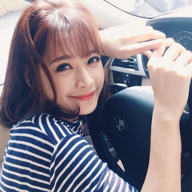 Chi Pu tau xe hop BMW 2 ty dong hinh anh 1