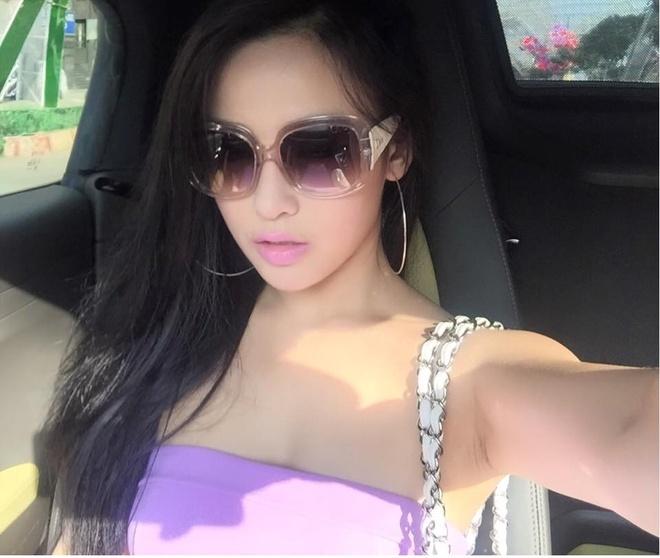 Facebook hot girl tuan qua: Chi Pu tau xe BMW 2 ty hinh anh 14