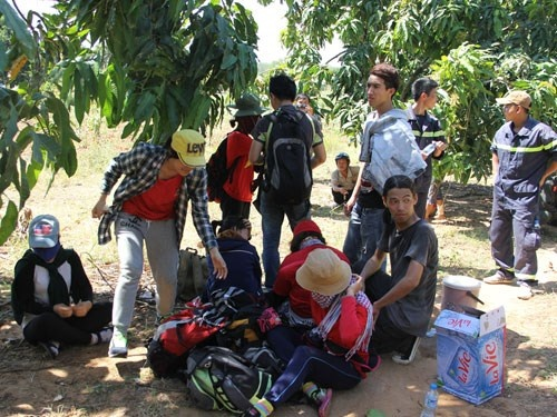 Chuyen 20 sinh vien di lac nui Ba Den: 'Dieu dang suy ngam' hinh anh