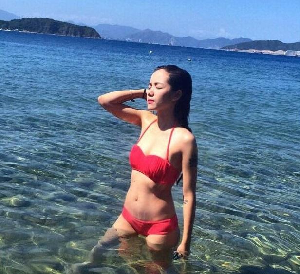 Hot girl Viet khoe dang thon gon voi bikini hinh anh 12
