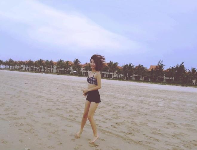 Hot girl Viet khoe dang thon gon voi bikini hinh anh 5