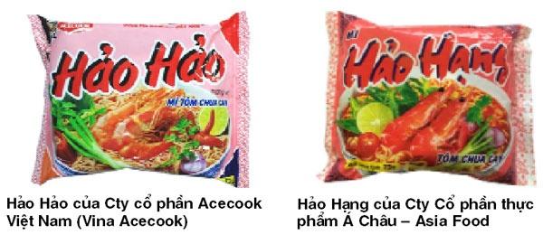Tranh chap nhan hieu: Mi Hao Hao 'dau' Hao Hang hinh anh