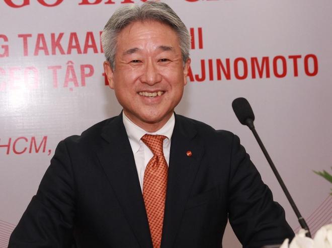 CEO Ajinomoto: 'Nu cuoi la uu the lon cua nha lanh dao' hinh anh 1