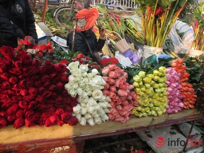 Hoa hong Valentine tang gia manh hinh anh
