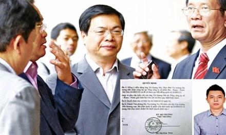 Bo nhiem con Bo truong lam lanh dao: 'Vi DN thiet tha xin' hinh anh
