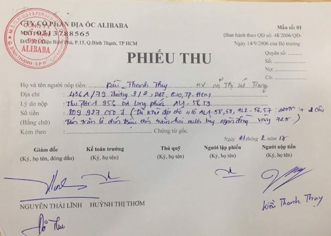 Ban du an 'banh ve': Khach hang tinh khoi kien dia oc Alibaba hinh anh 1