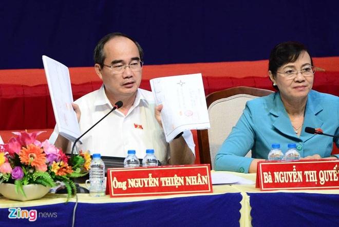 nguoi dan Thu Thiem gap Bi thu Nguyen Thien Nhan anh 24
