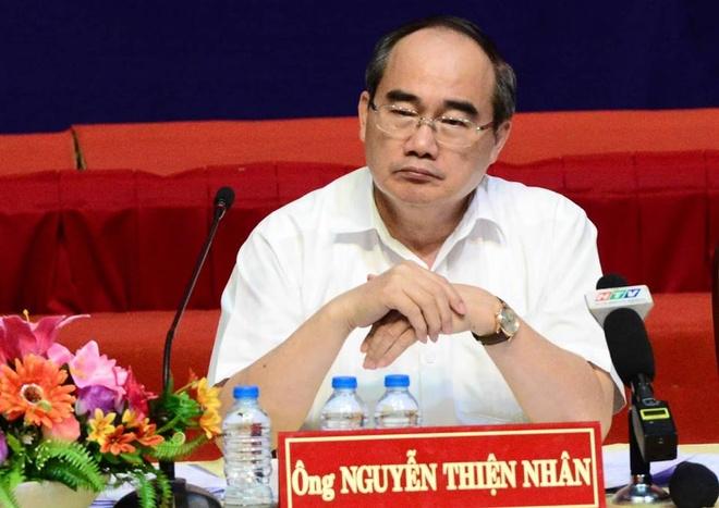 nguoi dan Thu Thiem gap Bi thu Nguyen Thien Nhan anh 16