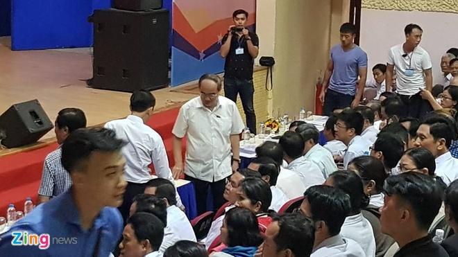 nguoi dan Thu Thiem gap Bi thu Nguyen Thien Nhan anh 19