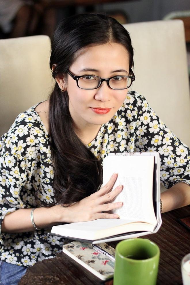 Uoc mo vien vong cung sach cua Duong hinh anh 1 Thảo Dương - cô gái trẻ có niềm đam mê mãnh liệt với văn chương - Ảnh: Trà Mi.