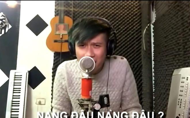 Vanh Leg sang tao doc dao trong clip cover 'Dap vo cay dan' hinh anh