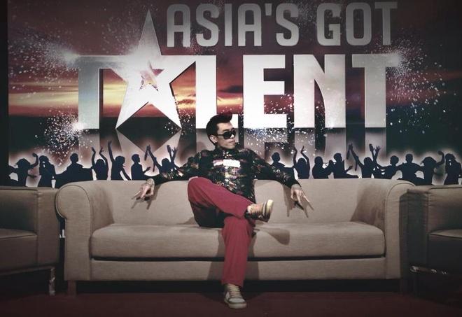 Chang trai Viet duoc vi la 'nguoi bun' thi Asia's Got Talent hinh anh