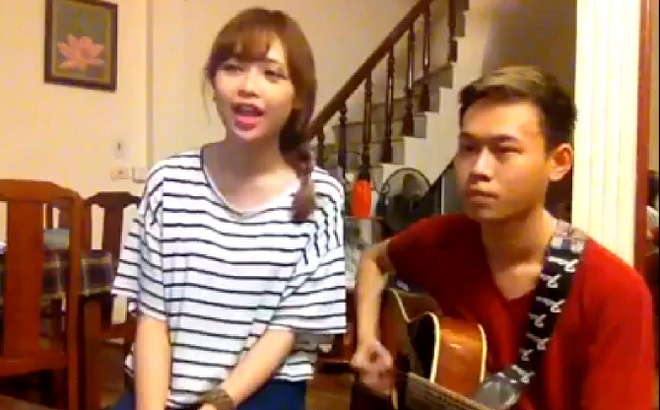 Clip Mo Naive cover 'My everything' cua Tien Tien hinh anh