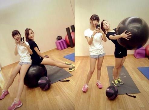 Hot girl Viet khoe dang trong phong tap gym hinh anh 11