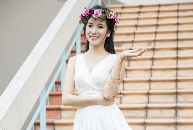 15 nu sinh hot nhat Dai hoc Quoc gia TP HCM hinh anh