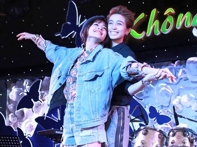 Clip Chi Pu hat 'My Everything' tang Gil Le hinh anh
