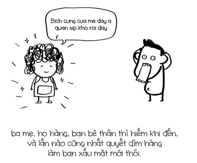 Tranh ve su that ve Facebook cua nhom Le Bich hinh anh 5