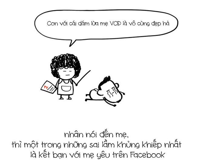 Tranh ve su that ve Facebook cua nhom Le Bich hinh anh 6