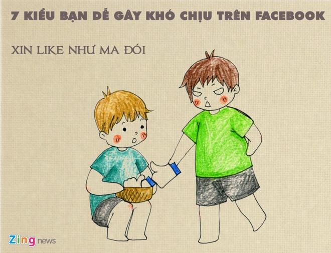 7 kieu ban gay kho chiu tren Facebook hinh anh 1
