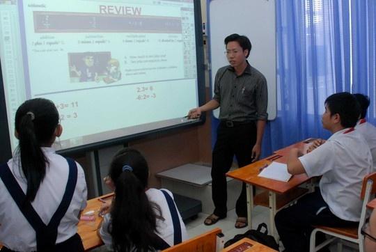 Khong co quy hoi lay gi de chi! hinh anh 1 Nhờ quỹ phụ huynh mà nhiều trường có điều kiện cải thiện phương tiện giảng dạy.