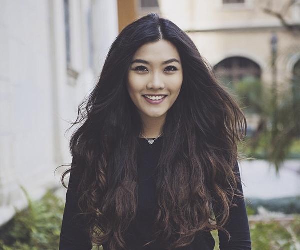 Nhung nu du hoc sinh Viet xinh dep, so huu chieu cao 1,7 m hinh anh 1 Vũ Nam Phương