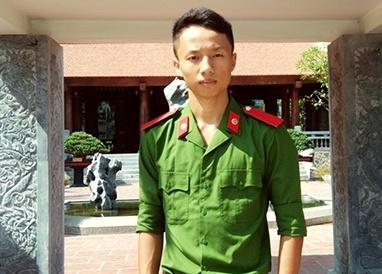 Thu khoa da tai cua Hoc vien Canh sat nhan dan hinh anh 1 Nguyễn Bá Đức - Thủ khoa đầu vào khối A1, Học viện Cảnh sát Nhân dân.