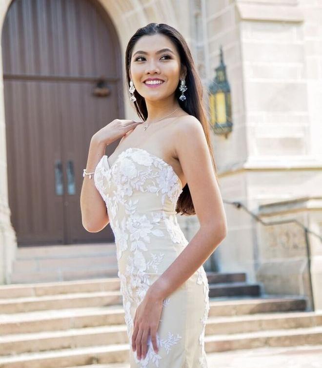 Nhan sac noi bat cua Miss Du hoc sinh Viet 2015 hinh anh 8