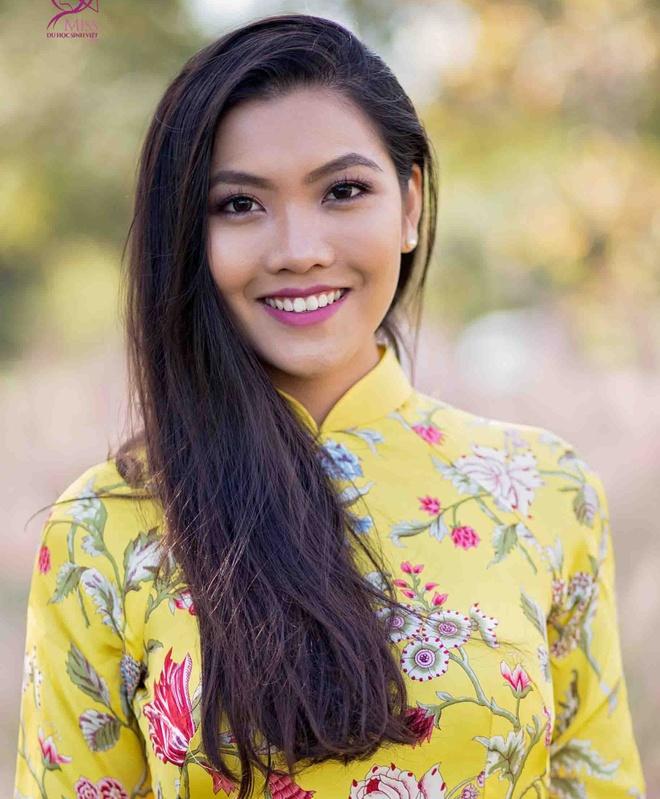 Nhan sac noi bat cua Miss Du hoc sinh Viet 2015 hinh anh 7