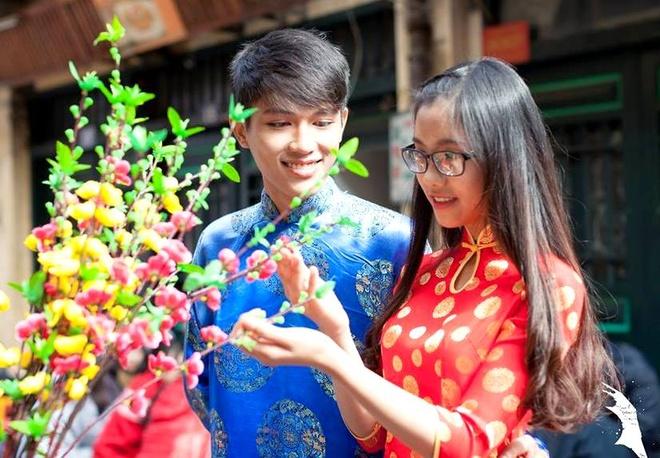 12 cap hoc sinh dep nhat truong chuyen Su pham Ha Noi hinh anh 8