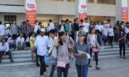 40% hoc sinh Nghe An khong thi dai hoc: Thay doi dang mung hinh anh 1