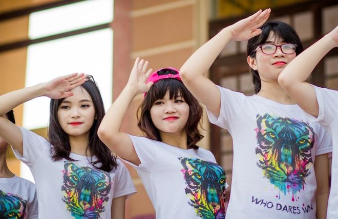 Anh ky yeu mang am huong 'Color me run' cua teen Yen Bai hinh anh 1