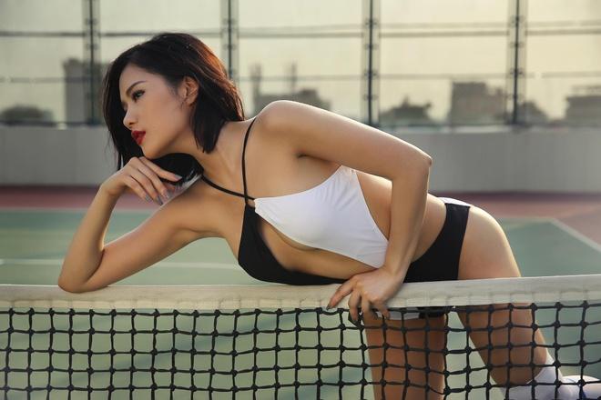 Hot girl Viet khoe dang chao he cung bikini hinh anh 2