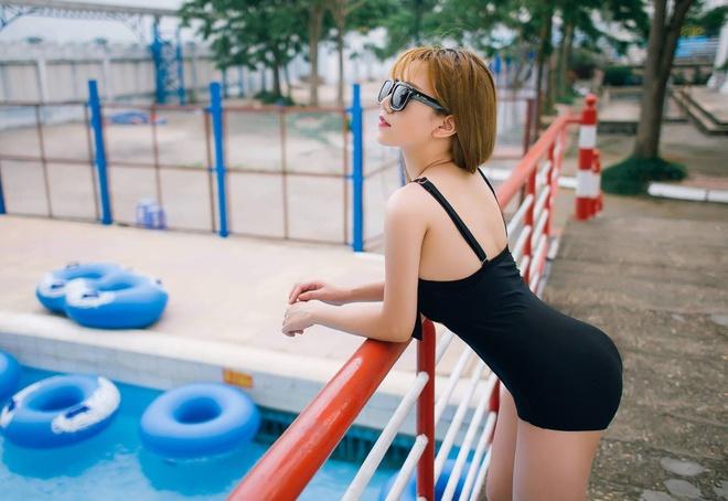 Hot girl Viet khoe dang chao he cung bikini hinh anh 5